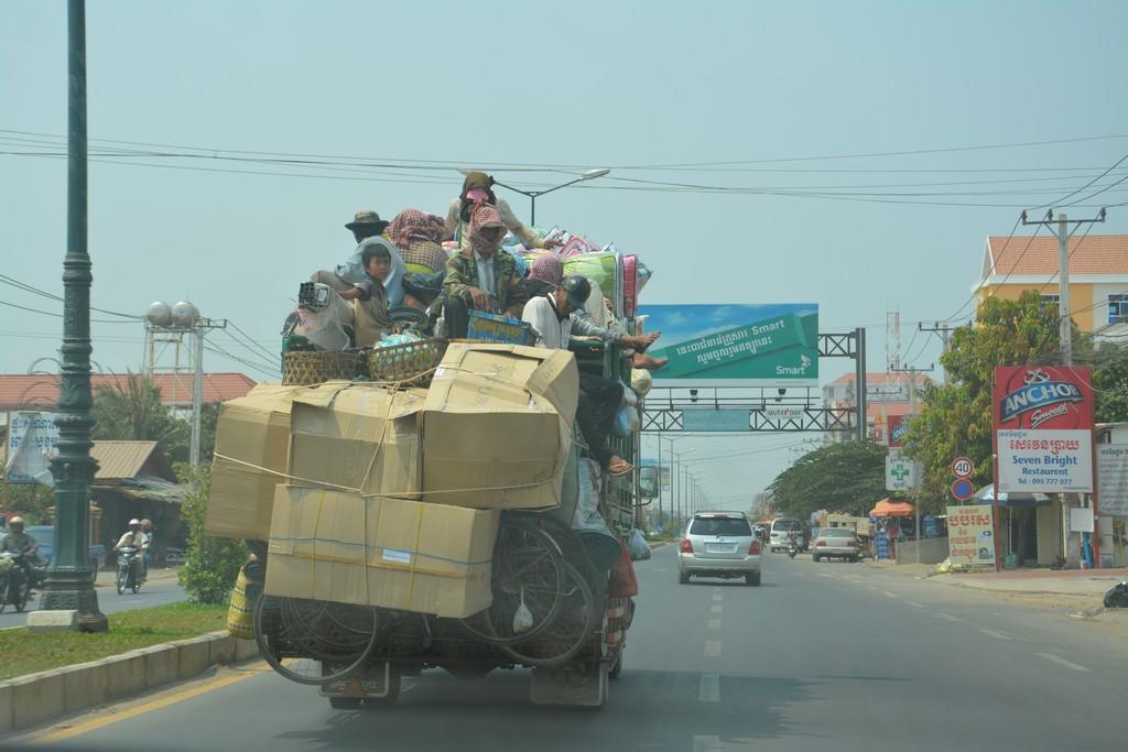 Kambodža s deťmi
