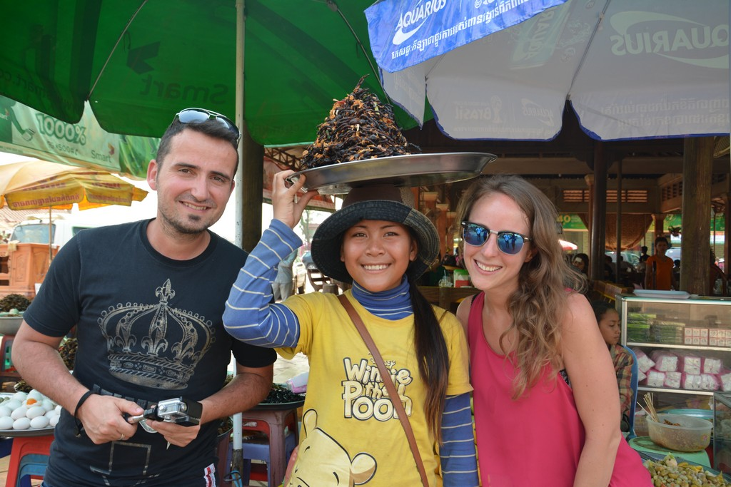 Kambodža s deťmi - Spiderville