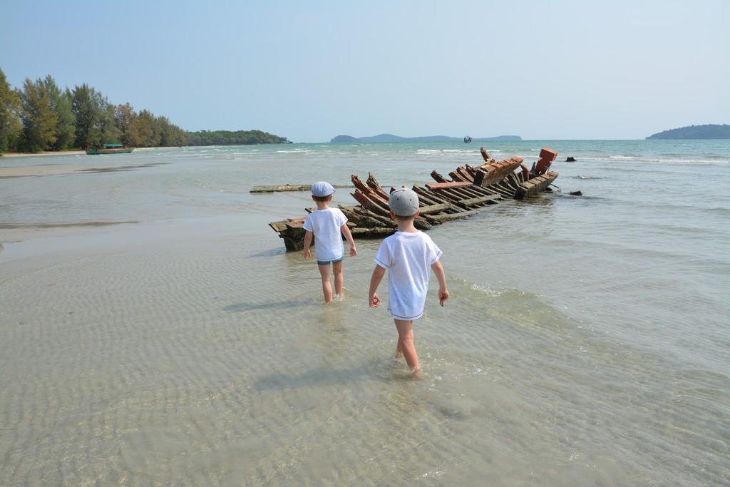 Otres beach - Kambodža s deťmi