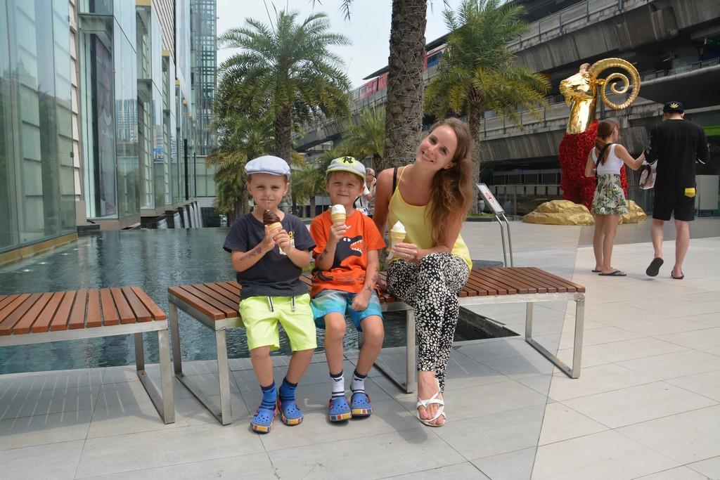 Bangkok s deťmi