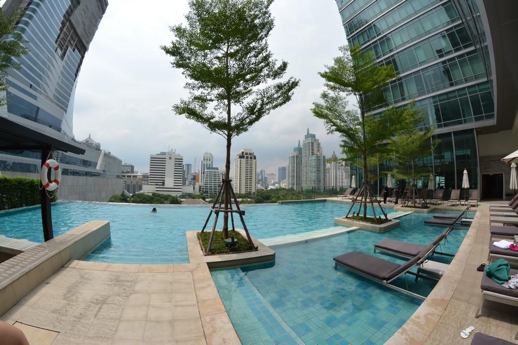 bangkok roof top pool