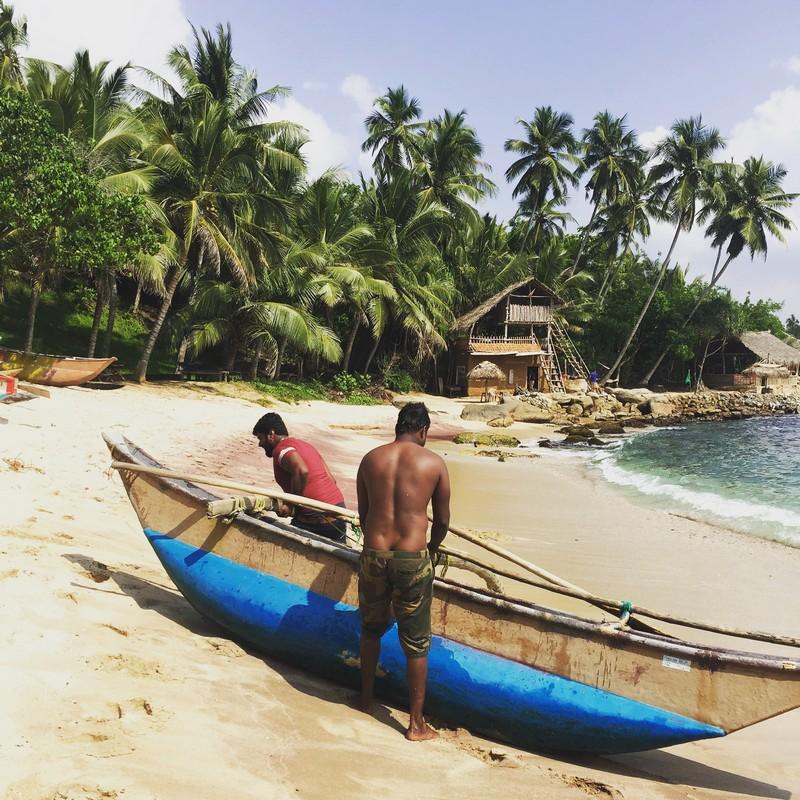 Srí Lanka s deťmi pláže