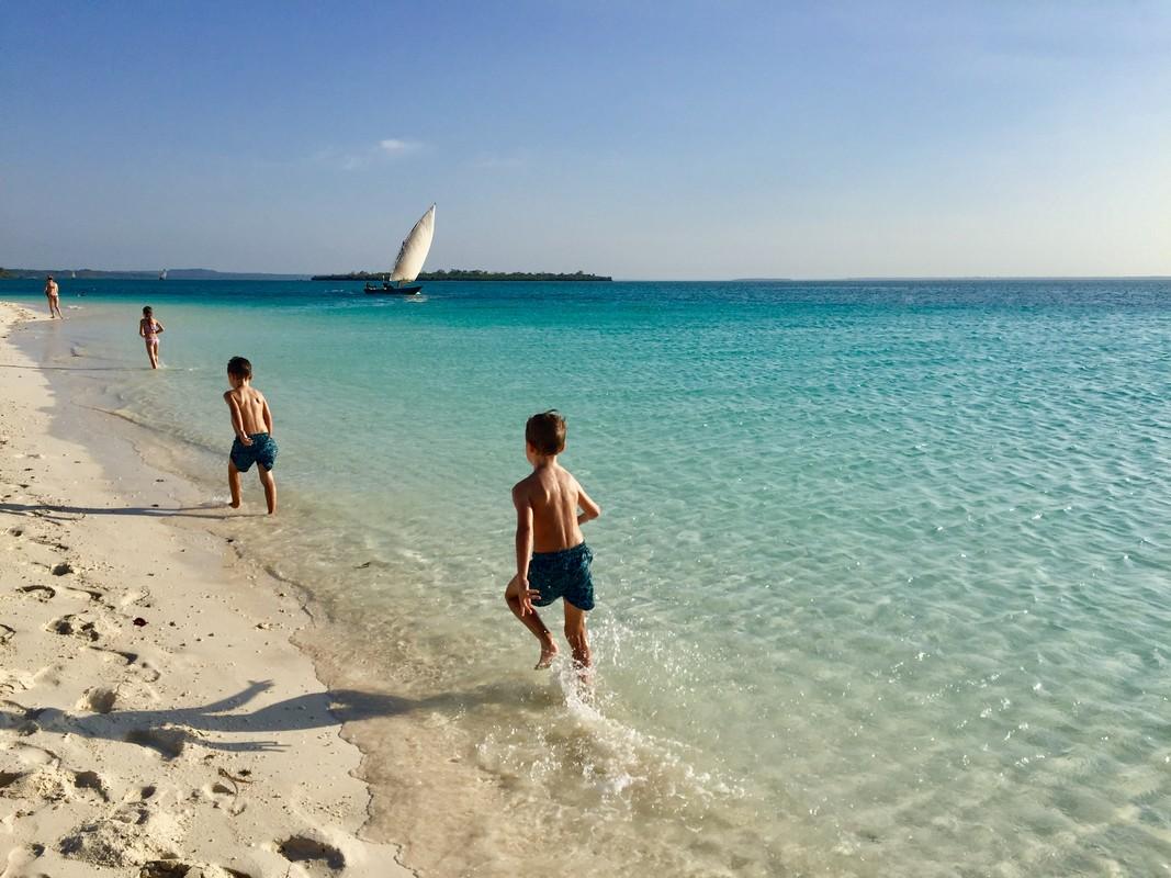 Zanzibar s deťmi