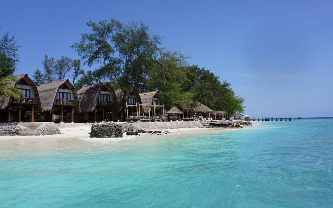 Indonézia bez cestovky: Gili Air a Gili Meno