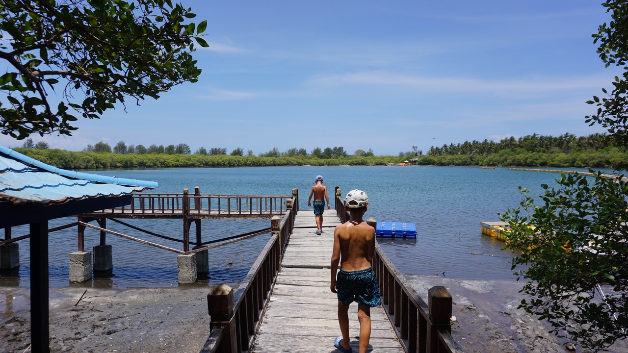 indonézia s deťmi gili ostrovy