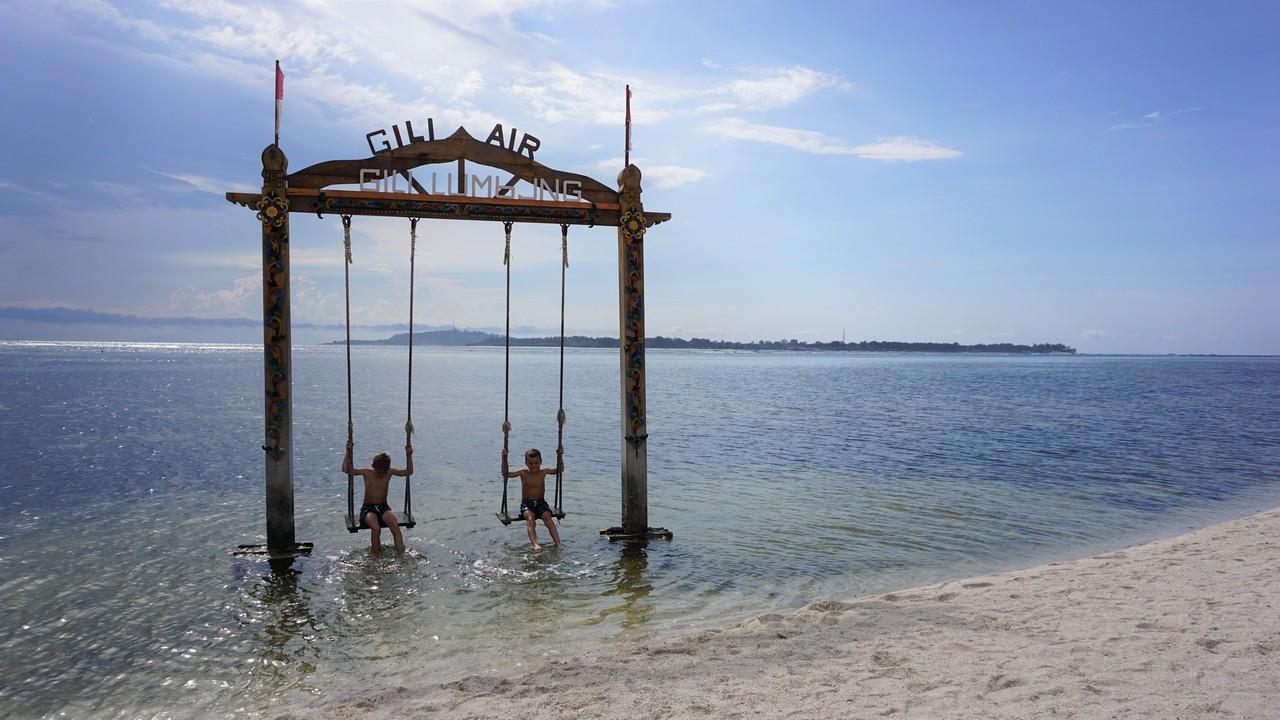 indonézia bez cestovky gili air