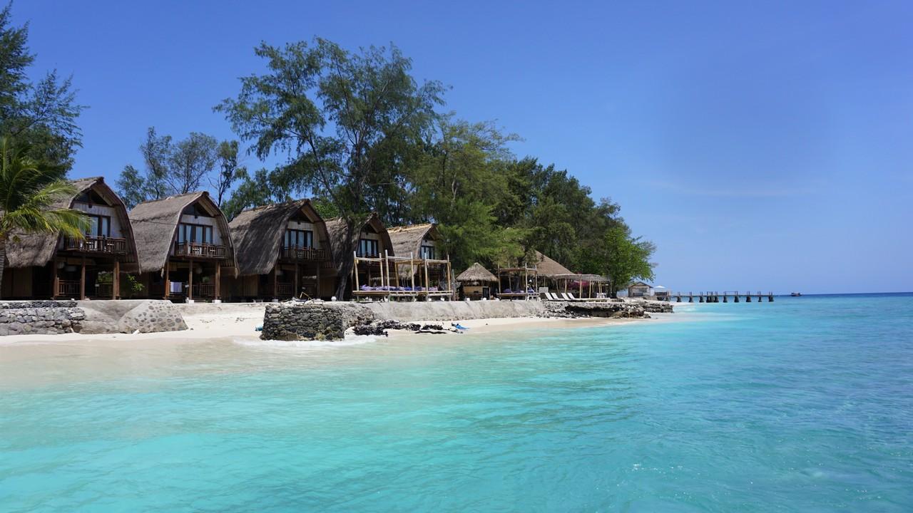 indonézia bez cestovky gili meno