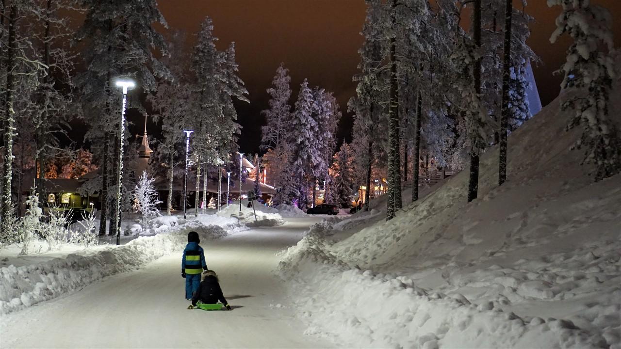 Laponsko s deťmi